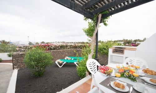 Las Casitas Apartment Terrace