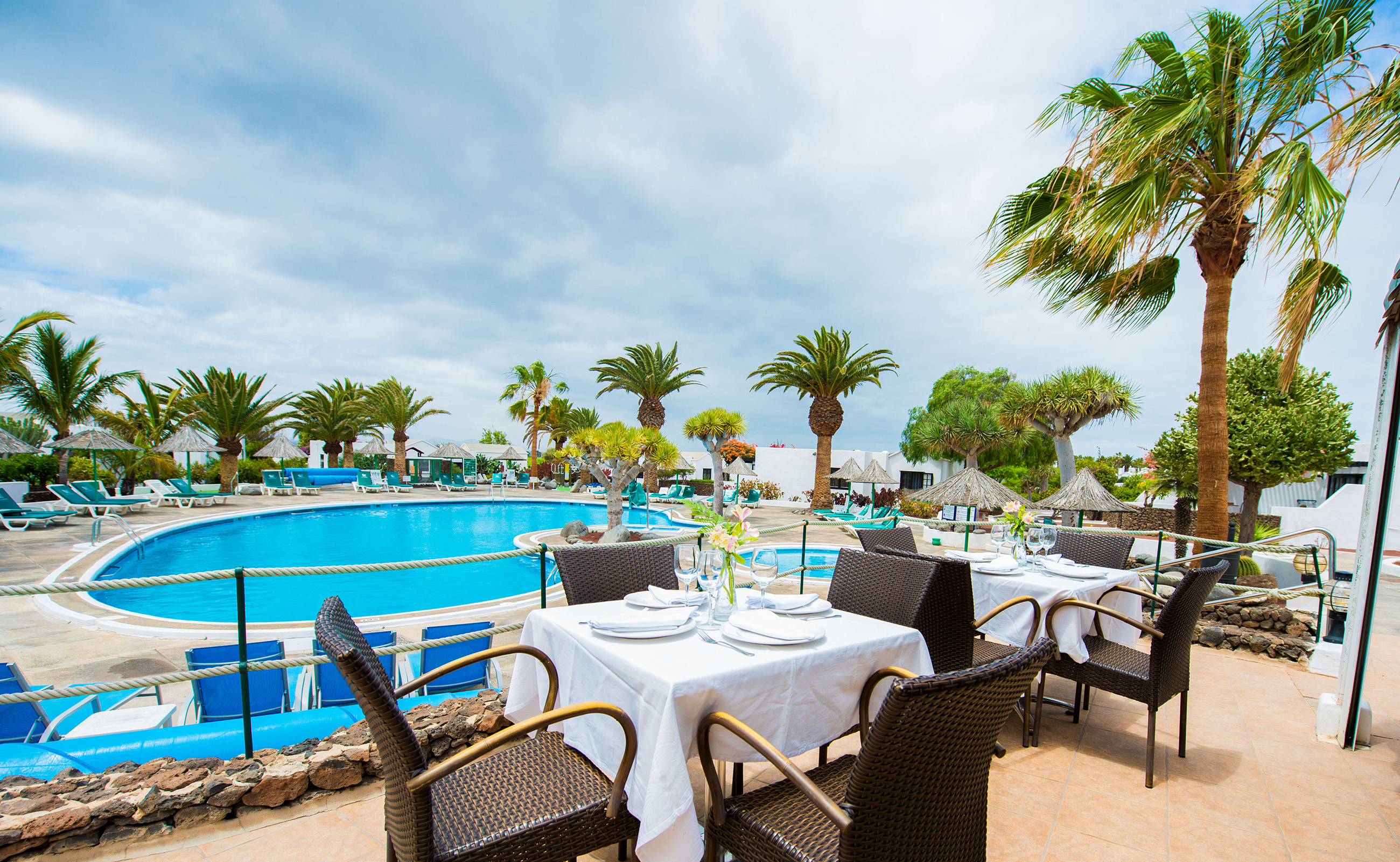 Las Casitas Pool Restaurant